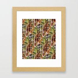 Energy Plumage Framed Art Print