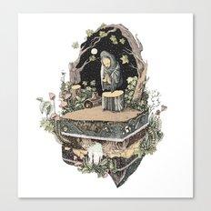 the priest Canvas Print