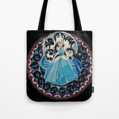 Paper fairytale window Tote Bag