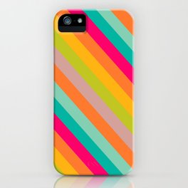 Stripes Colored iPhone Case
