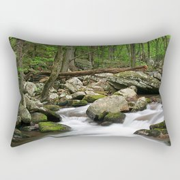 Sounds of the Forest Rectangular Pillow