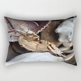 Crabe &Coquillages Rectangular Pillow