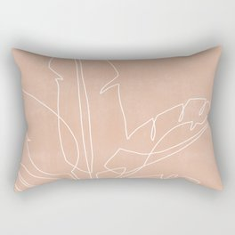 Plant Illustration X Rectangular Pillow