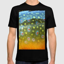 Brook Trout Skin Fly Fishing T-shirt