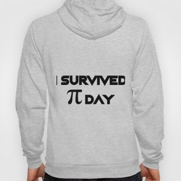 I Survived Pi Day Math Funny Gifts Hoody
