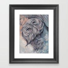Demon (anxiety) Framed Art Print