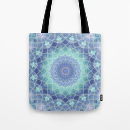 Midnight Frost Tote Bag
