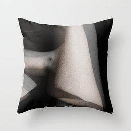 Ghostly Bodies Throw Pillow