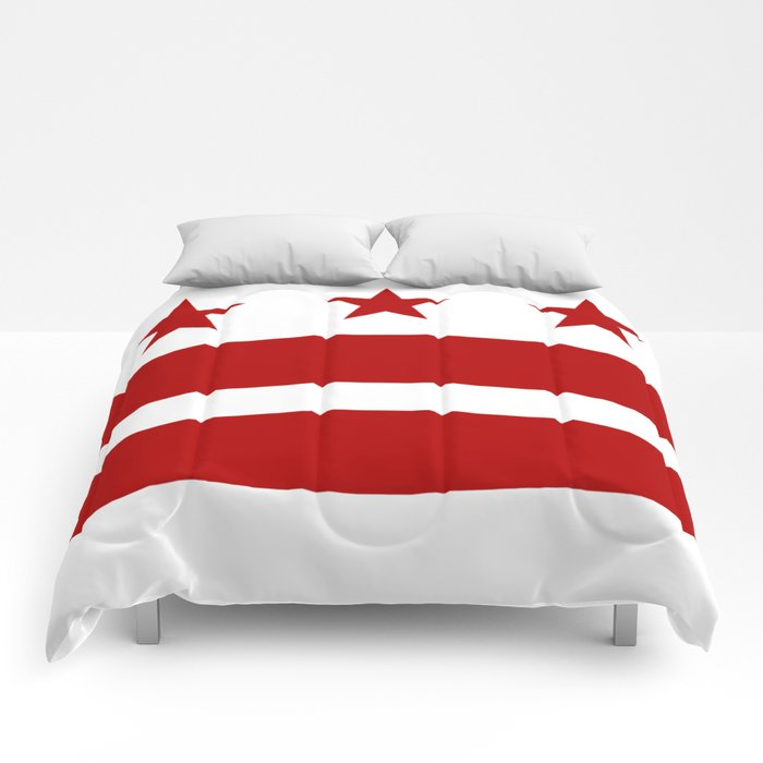 Washington DC District Of Columbia Flag Comforters
