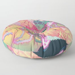 The World of One Floor Pillow