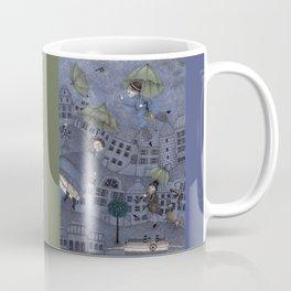 Monsieur Millet's Umbrellas Coffee Mug