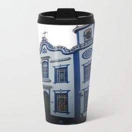 Blue Church Travel Mug