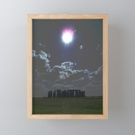 Stonehenge Framed Mini Art Print