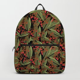 Flowering Gum - Black Backpack