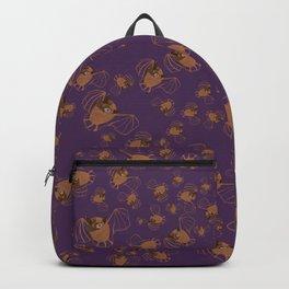 Adorable bats for Halloween (Purple) Backpack