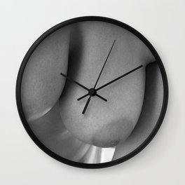 Approaching to love Wall Clock