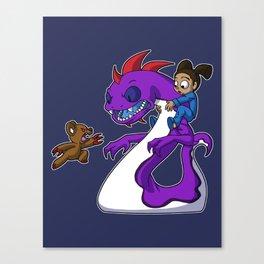 Irony Monster Canvas Print