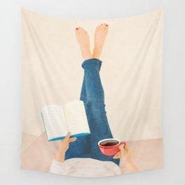 Morning Read Wall Tapestry