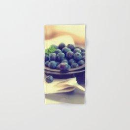 Blueberry plate Hand & Bath Towel