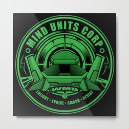 Mind Units Corp - Weapons of Mass Destruction Enlightened Version Metal Print