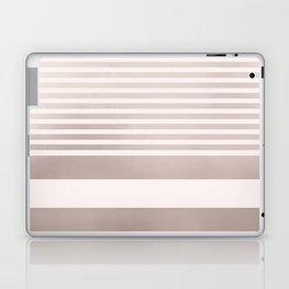 Rose Gold and Pink Stripes Mix Pattern Laptop & iPad Skin