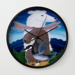 North Pole! Wall Clock