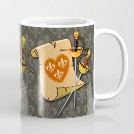 Two swords and scroll Coffee Mug