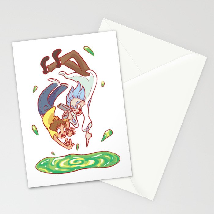 Rick touch Stationery Cards