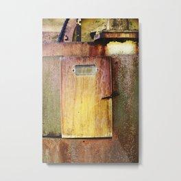 Small door Metal Print