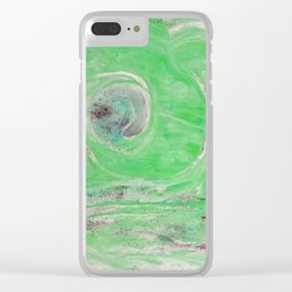 Innere Auge Nr.03 abstrakt Clear iPhone Case