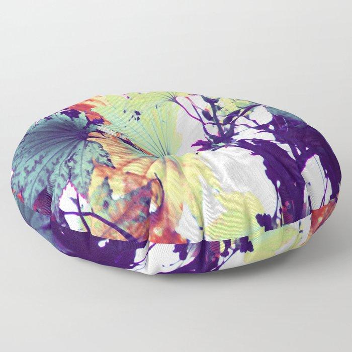 Exotic Autumn colors Floor Pillow