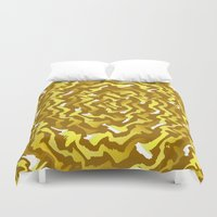 fabric Duvet Covers featuring Fabric P by Vitta
