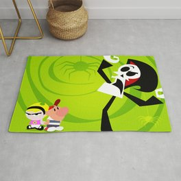 GRIM ADVENTURES OF BILLY AND MANDY Rug