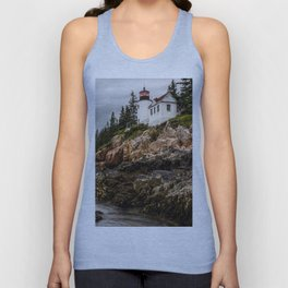 Bass Harbor Lighthouse - Acadia National Park Unisex Tank Top
