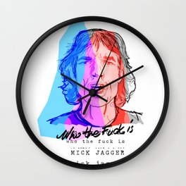 who is mick Wall Clock