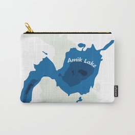 Amik Lake Map Carry-All Pouch