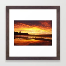 Coogee Sunrise Framed Art Print