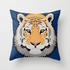 The Wild Ones: Siberian Tiger Throw Pillow