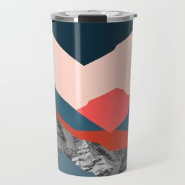 Graphic Mountains X Travel Mug