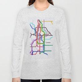 London Underground Long Sleeve T-shirt