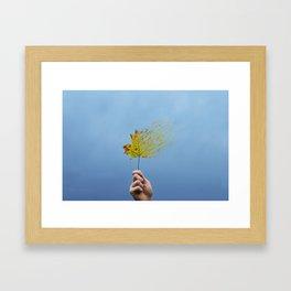 Dissolved  Framed Art Print