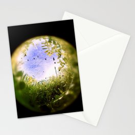 Through Nature's Crystal Ball Stationery Cards