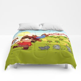 The Pied Piper of Hamelin  Comforters