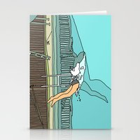 diver Stationery Cards featuring Diver by Highly Anticipated