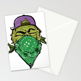 Purple OG mariju b Stationery Cards