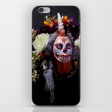 Tiger Blossom Muertita iPhone & iPod Skin