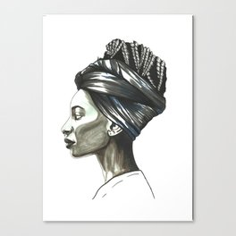 turban Canvas Print