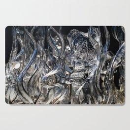 Wisps Glass Sculpture Cutting Board