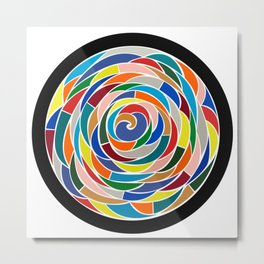 Swirling Abyss Metal Print