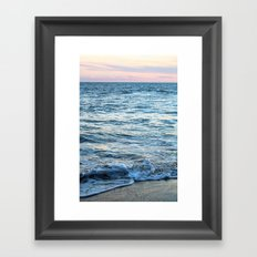 California Waves Framed Art Print